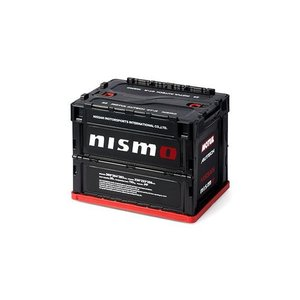 【NISMO】折りたたみコンテナボックス ブラック 20L