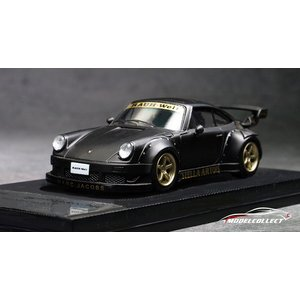 ☆11月新製品☆【MODELCOLLECT】1/64 RWB 930 Black ※Wheel: G...