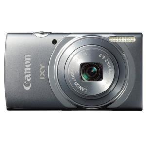 送料無料 デジタルカメラ Canon IXY130(GY) 約1600万画素 光学8倍ズーム グレー...