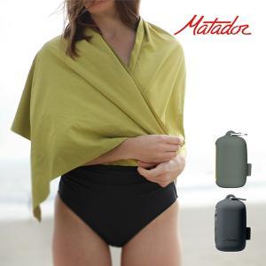 ナノドライタオル ラージ Lサイズ 超軽量 超吸収性 速乾性 Matador マタドール アウトドア タオル 吸水 速乾 抗菌 KMD5003 alg-select
