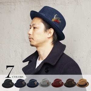 フェザーマニッシュ ハット メンズ 帽子 全7色 Mサイズ 56-58cm  Lサイズ 58-60cm 男性 プレゼント alg-select