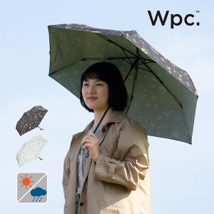 Wpc 折りたたみ傘 軽量 レディース 日傘 晴雨兼用傘 UVカット99% 超撥水傘 T/C遮光エマズベリーズmini 50cm 紫外線対策 遮光 遮熱 プレゼント|alg-select