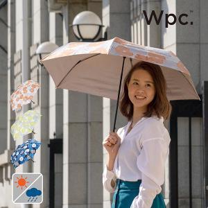 Wpc 折りたたみ傘 軽量 レディース 日傘 晴雨兼用傘 UVカット99% 超撥水傘 T/C遮光ガーデンmini 全3色 50cm 紫外線対策 遮光 遮熱 プレゼント|alg-select