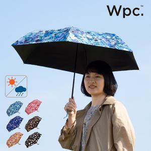 Wpc 折りたたみ傘 軽量 レディース 日傘 晴雨兼用傘 UVカット99% plantica フラワーアンブレラミニ 全6色 50cm 紫外線対策 遮光 遮熱|alg-select