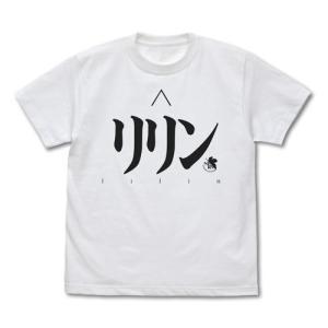 EVANGELION リリン Tシャツ WHITE Lサイズ コスパ【予約/2月末〜3月上旬】 alice-sbs-y
