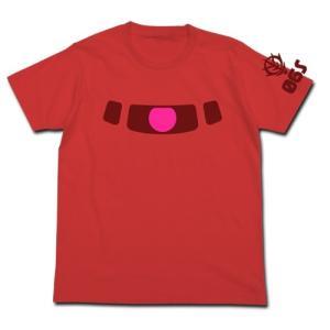 機動戦士ガンダム シャアザクモノアイ蓄光Tシャツ FRENCH RED Mサイズ コスパ【予約/9月末〜10月上旬】|alice-sbs-y