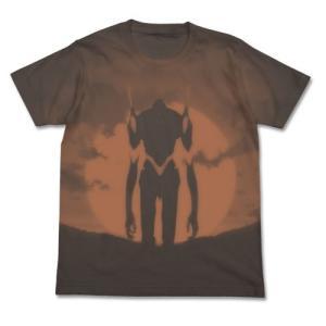 EVANGELION エヴァ3号機Tシャツ CHARCOAL Sサイズ コスパ【予約/9月末〜10月上旬】|alice-sbs-y