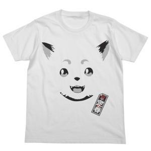 銀魂 リニューアル定春フェイスTシャツ WHITE Sサイズ コスパ【予約/10月末〜11月上旬】|alice-sbs-y