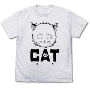 銀魂 猫になった銀さん Tシャツ ASH Mサイズ コスパ【予約/10月末〜11月上旬】|alice-sbs-y