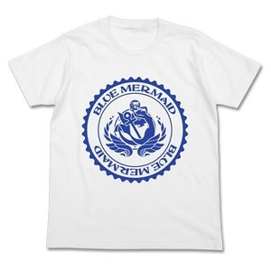 ハイスクール・フリート ブルーマーメイドTシャツ WHITE Sサイズ コスパ【予約/8月末〜9月上旬】|alice-sbs-y