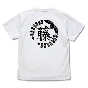 鬼滅の刃 藤の花の家紋 Tシャツ WHITE Lサイズ コスパ【予約/8月末〜9月上旬】|alice-sbs-y
