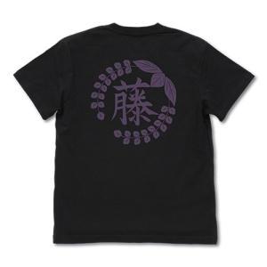 鬼滅の刃 藤の花の家紋 Tシャツ BLACK Lサイズ コスパ【予約/8月末〜9月上旬】|alice-sbs-y