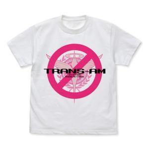 機動戦士ガンダム00 トランザムは使うなよ!Tシャツ WHITE XLサイズ コスパ【予約/9月末〜10月上旬】 alice-sbs-y