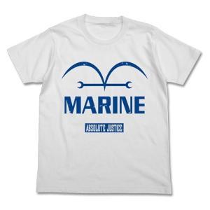 ワンピース 新世界編海軍Tシャツ WHITE Mサイズ コスパ【予約/8月末〜9月上旬】|alice-sbs-y