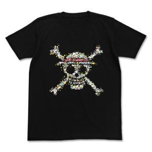 ワンピース 麦わらドクログラフィックTシャツ BLACK Mサイズ コスパ【予約/8月末〜9月上旬】|alice-sbs-y
