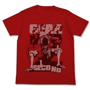 ワンピース ギアセカンドTシャツ RED Mサイズ コスパ【予約/8月末〜9月上旬】|alice-sbs-y