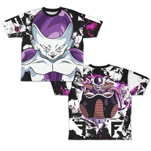 ドラゴンボールZ フリーザ 両面フルグラフィックTシャツ XLサイズ コスパ【予約/9月末〜10月上旬】|alice-sbs-y