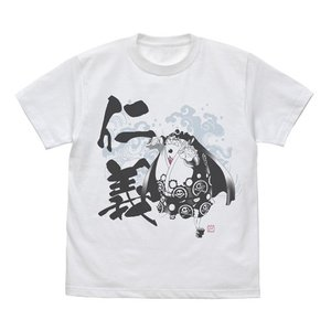 ワンピース ジンベエの仁義 Tシャツ WHITE Lサイズ コスパ【予約/8月末〜9月上旬】|alice-sbs-y