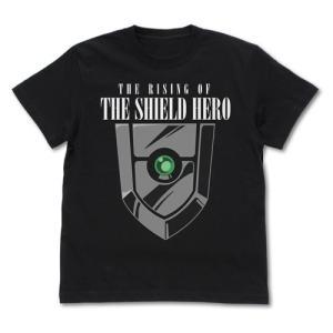 盾の勇者の成り上がり スモールシールド 蓄光Tシャツ BLACK Mサイズ コスパ【予約/10月末〜11月上旬】|alice-sbs-y