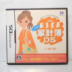 【DS】ESSE しっかり家計簿DS IEインスティテュート xbcr16【中古】|alice-sbs-y