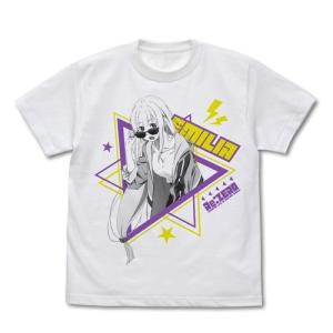 Re:ゼロから始める異世界生活 エミリア Tシャツ ストリートファッションVer. WHITE Sサイズ コスパ【予約/8月末〜9月上旬】|alice-sbs-y