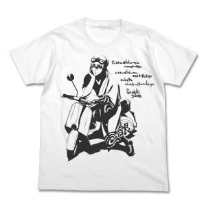 銀魂 バイクと銀さんTシャツ WHITE XLサイズ コスパ【予約/10月末〜11月上旬】 alice-sbs-y