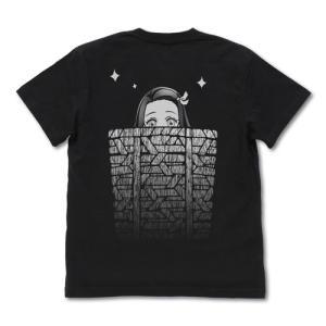 鬼滅の刃 籠の中の禰豆子 Tシャツ BLACK Lサイズ コスパ【予約/10月末〜11月上旬】|alice-sbs-y