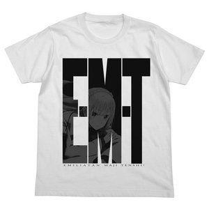 Re:ゼロから始める異世界生活 E・M・T Tシャツ WHITE Sサイズ コスパ【予約/10月末〜11月上旬】|alice-sbs-y