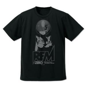 Re:ゼロから始める異世界生活 レム ドライTシャツ BLACK XLサイズ コスパ【予約/8月末〜9月上旬】 alice-sbs-y