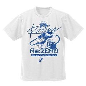 Re:ゼロから始める異世界生活 レムとモーニングスター ドライTシャツ WHITE Sサイズ コスパ【予約/8月末〜9月上旬】 alice-sbs-y
