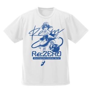 Re:ゼロから始める異世界生活 レムとモーニングスター ドライTシャツ WHITE Lサイズ コスパ【予約/8月末〜9月上旬】 alice-sbs-y
