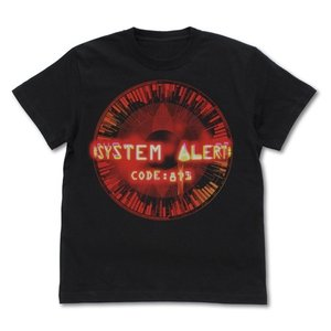 ソードアート・オンライン アリシゼーション コード871 右目の封印 Tシャツ BLACK Mサイズ コスパ【予約/8月末〜9月上旬】 alice-sbs-y