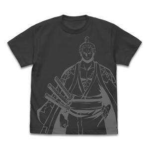 ワンピース ゾロ十郎 オールプリントTシャツ SUMI XLサイズ コスパ【予約/8月末〜9月上旬】 alice-sbs-y