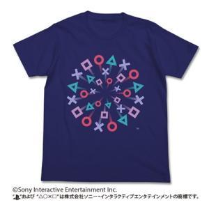 プレイステーション Tシャツ/PlayStation(R)祭 NAVY Lサイズ コスパ【予約/8月末〜9月上旬】 alice-sbs-y