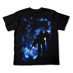 機動戦士ガンダム 星空のガンダムTシャツ BLACK Sサイズ コスパ【予約/11月末〜12月上旬】 alice-sbs-y