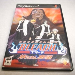 【PS2】BLEACH ブリーチ 放たれし野望 RPG ソニー xbdj14【中古】 alice-sbs-y