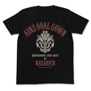オーバーロードII アインズ・ウール・ゴウン Tシャツ BLACK Mサイズ コスパ【予約/2月末〜3月上旬】|alice-sbs-y