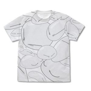 転生したらスライムだった件 リムル様 オールプリントTシャツ WHITE Mサイズ コスパ【予約/9月末〜10月上旬】|alice-sbs-y
