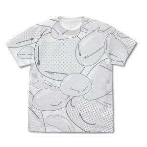 転生したらスライムだった件 リムル様 オールプリントTシャツ WHITE Lサイズ コスパ【予約/9月末〜10月上旬】|alice-sbs-y