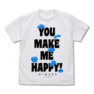 転生したらスライムだった件 みんなのリムル様 Tシャツ WHITE Sサイズ コスパ【予約/9月末〜10月上旬】|alice-sbs-y