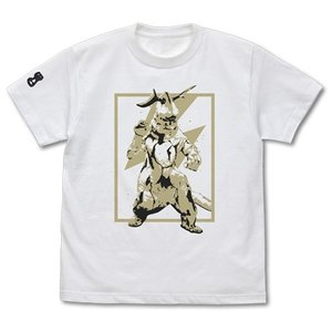 ウルトラセブン エレキング Tシャツ WHITE XLサイズ コスパ【予約/9月末〜10月上旬】 alice-sbs-y