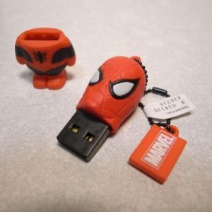 スパイダーマン USBメモリー 8MB マーベル アベンジャーズ グルマンディーズ|alice-sbs-y