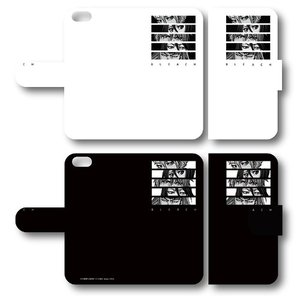 BLEACH 手帳型スマホケース 白/黒 iPhone6/6s/7/8/Plus/X ブリーチ プレイフルマインドカンパニー|alice-sbs-y