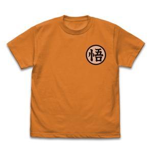 ドラゴンボールZ 悟空マーク Tシャツ ORANGE XLサイズ コスパ|alice-sbs-y