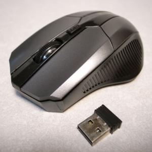 ワイヤレス オプティカルマウス 新品 新品 光学式 黒 ブラック 海外製 ノンブランド alice-sbs-y