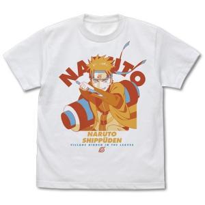 NARUTO-ナルト- 疾風伝 うずまきナルト Tシャツ WHITE Sサイズ コスパ【予約/10月末〜11月上旬】 alice-sbs-y
