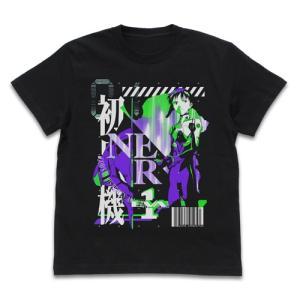 EVANGELION エヴァ初号機 アシッドグラフィックスTシャツ BLACK Lサイズ コスパ【予約/2月末〜3月上旬】|alice-sbs-y