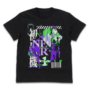 EVANGELION エヴァ初号機 アシッドグラフィックスTシャツ BLACK XLサイズ コスパ【予約/2月末〜3月上旬】|alice-sbs-y