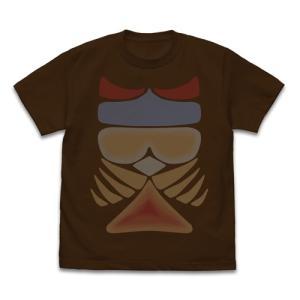 ウルトラマン ギャンゴ 模様Tシャツ DARK BROWN XLサイズ コスパ【予約/2月末〜3月上旬】|alice-sbs-y