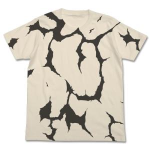 ウルトラセブン エレキング模様 Tシャツ NATURAL Lサイズ コスパ【予約/9月末〜10月上旬】 alice-sbs-y